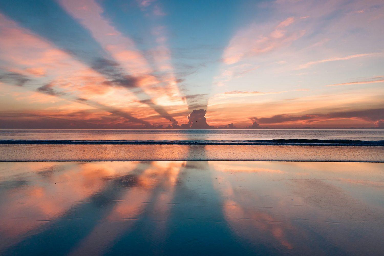 Sonnenuntergang Osteopathie van Deyk